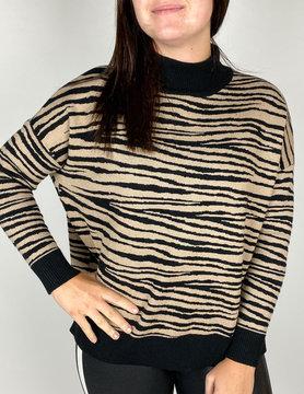 THML THML Zebra Stripe Sweater