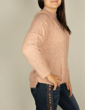 Esqualo Esqualo Sweater Light Pink
