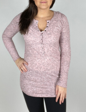 free people Free People Think Thermal Pink
