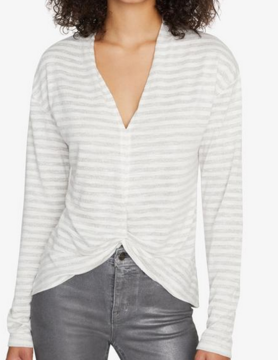 Sanctuary Sanctuary Knot Int Top Hthr Parch Met Stripe