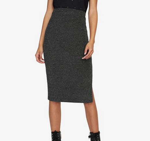 Sanctuary Sanctuary Met Pencil Skirt SVBS CS0251MG3