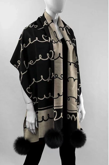 mitchies matchings Mitchies Matchings Black Scarf SC0705