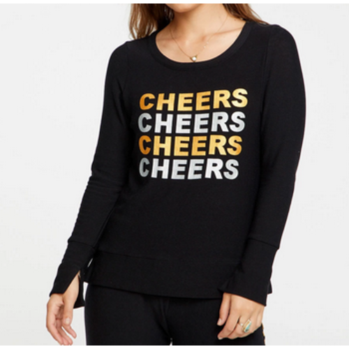 Chaser Chaser Cozy Knit P/O Tr Blk