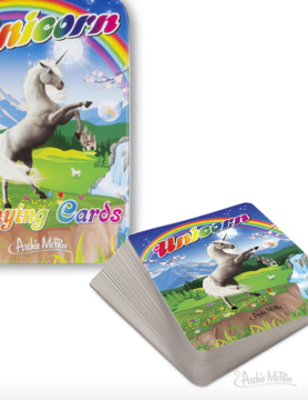 ACCOUTREMENTS Accoutrements Unicorn Playing Cards