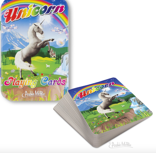 ACCOUTREMENTS Accoutrements Unicorn Playing Cards 12847