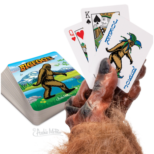 ACCOUTREMENTS Accoutrements Bigfoot Playing Cards 12849
