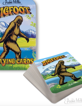 ACCOUTREMENTS Accoutrements Bigfoot Playing Cards