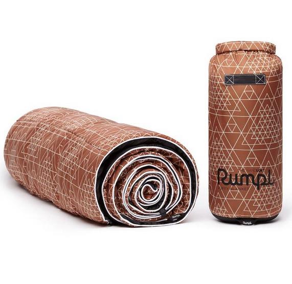 rumpl Rumpl Nanoloft Blanket 1P Prism Geo