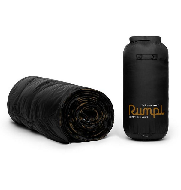 rumpl Rumpl Nanoloft Blanket 1P Black