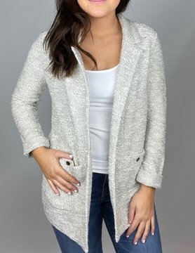 nic & zoe Nic & Zoe Bounce Back Jacket NEUTRAL
