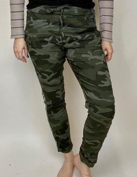 brand bazaar Brand Bazaar Camo Zip Pant Grey