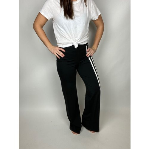 i love tyler madison I Love TM Sloane Wide Leg Blk/Wht