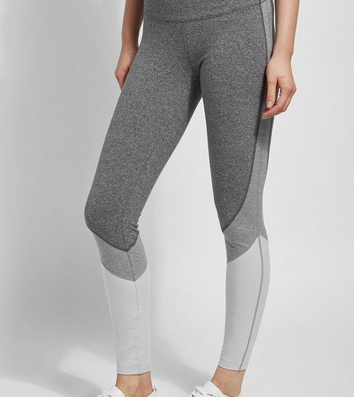 Lysse Lysse Grey Combo Legging 2411