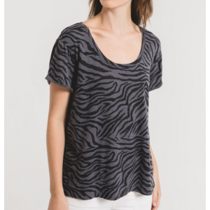 Z Supply Z Supply Zebra T Omb Black
