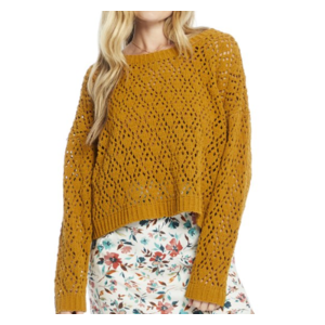 saltwater luxe Saltwater Luxe L/S Swtr Amber