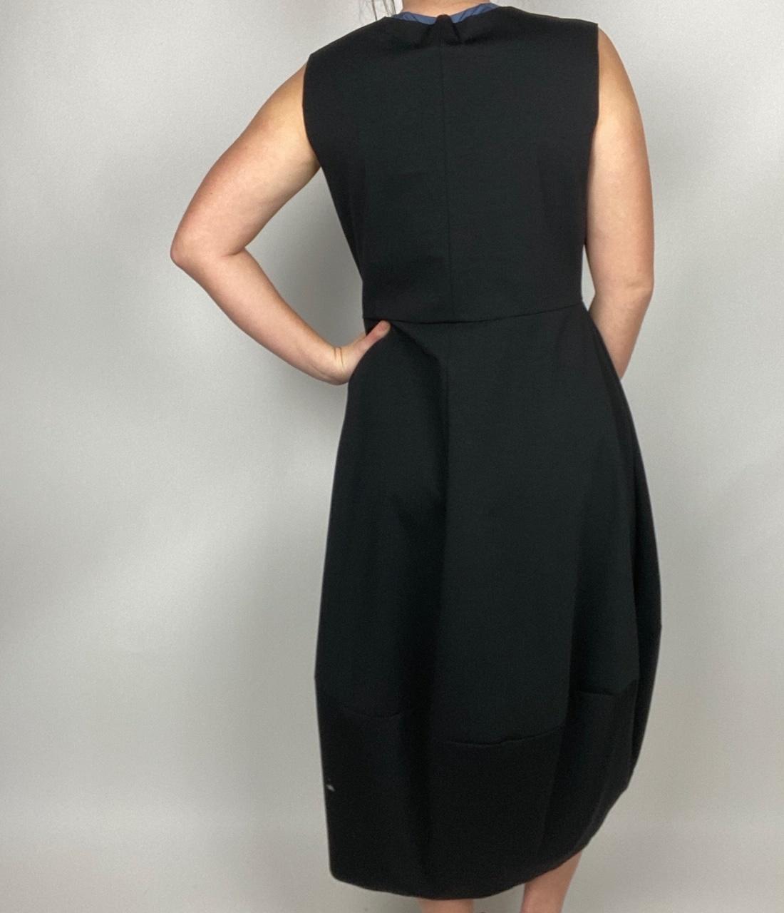 Baci & Amici Baci Panelled Tank Dress Blk 21930416