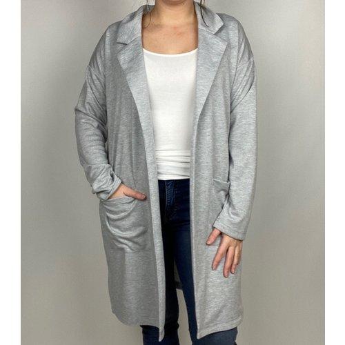 Hem & Thread Hem & Thread Midi Length Jacket H Gry