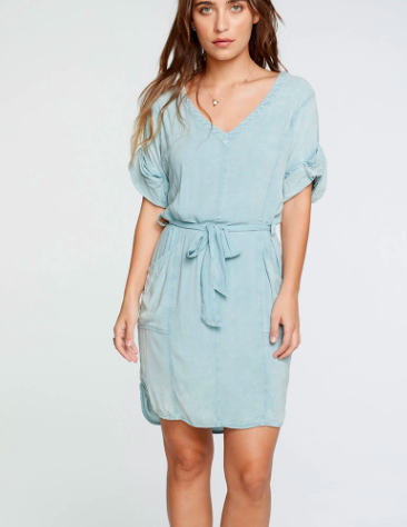 Chaser Chaser Heirloom Rolled S/S Dress CW8147