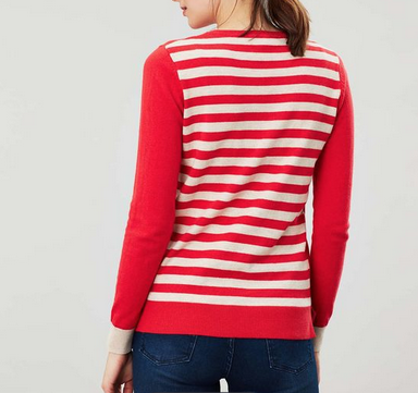 JOULES Joules Asha Red Stripe 206466