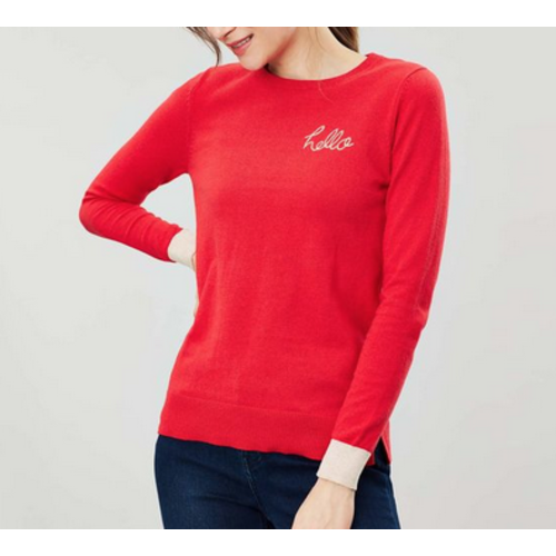 JOULES Joules Asha Red Stripe