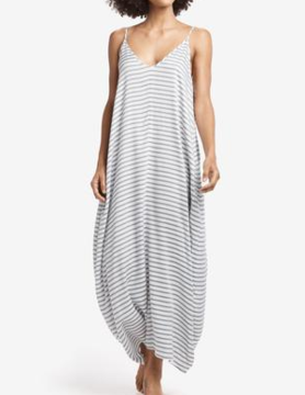 Lole Lole Pacifica Long Dress Blue Anc Stripe