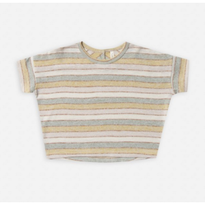 rylee and cru Rylee and Cru Stripe Boxy T
