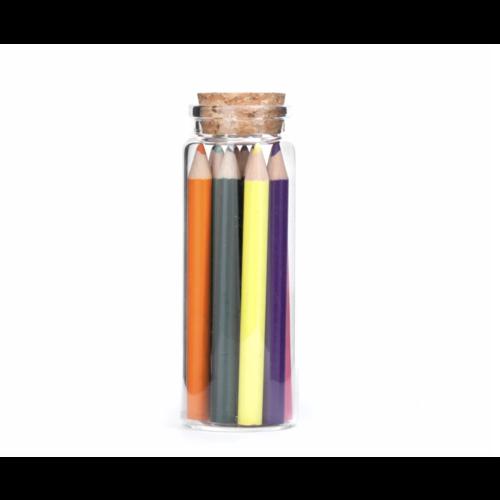 Kikkerland Kikkerland Colored Pencil in Jar ST70