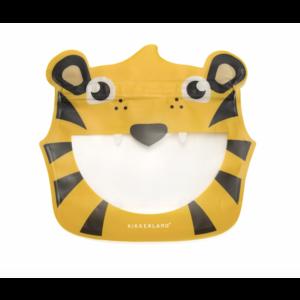 Kikkerland Kikkerland Tiger Zipper Bag 3 Set