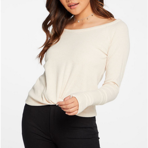Chaser Chaser Linen Rib Cuff T GLO CW8183