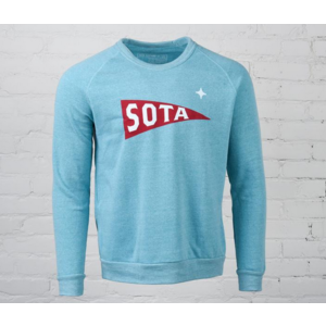 Sota Clothing Sota Valley Unisex Crewneck Eco Aqua