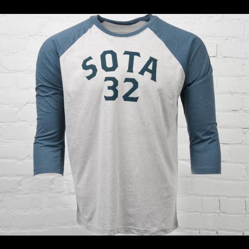 Sota Clothing Sota Rush River Unisex Raglan Ind/Silk