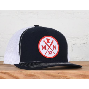 Sota Clothing Sota Midway Snapback Navy/Wht/Red