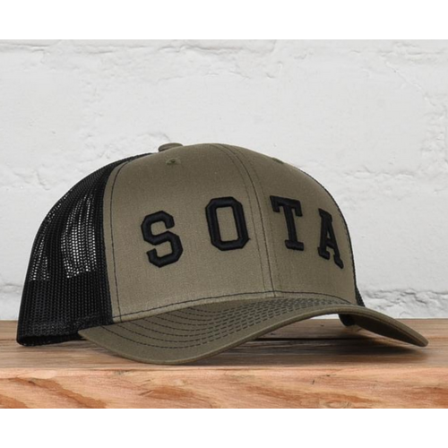 Sota Clothing Sota Anchor Snapback Loden/Blk