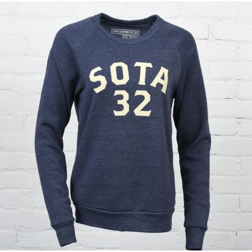 Sota Clothing Sota Ace Unisex Crewneck Navy/Cream
