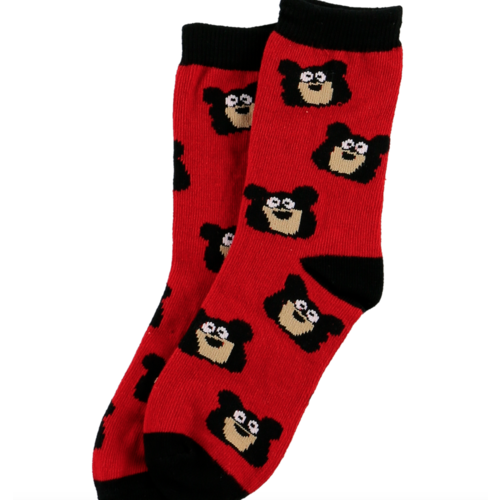 lazy one Lazy One Bear Bum Kid Sock