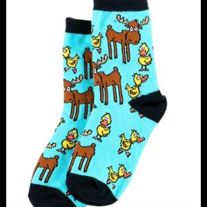 lazy one Lazy One Boy Duck Moose Kid Sock