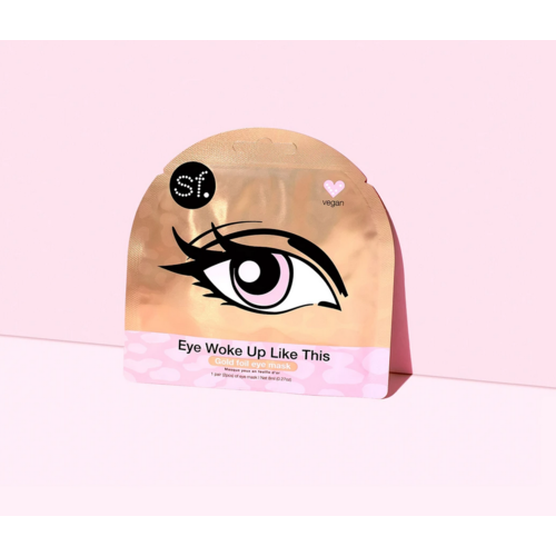 SF Glow Eye Woke Up Like This Eye Mask