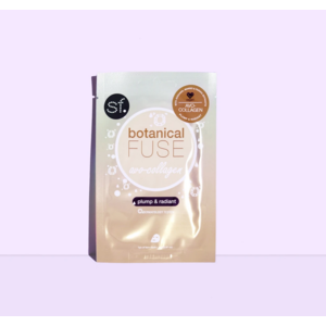 SF Glow Bot Fuse Sheet Mask Avo Collagen