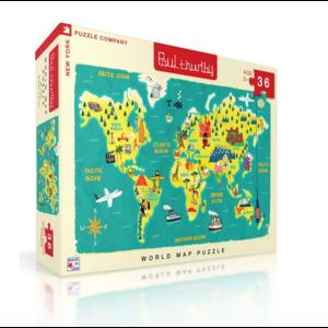 NYPC World Map Puzzle