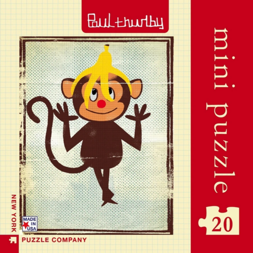 NYPC Silly Monkey Mini Puzzle