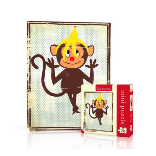 NYPC Silly Monkey Mini Puzzle NPZPT1869