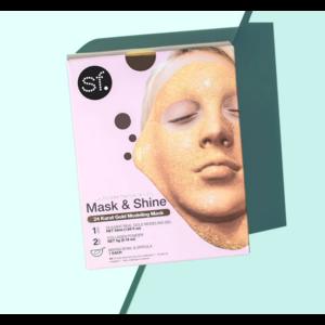 SF Glow 24 Karat Gold Modeling Gel Mask