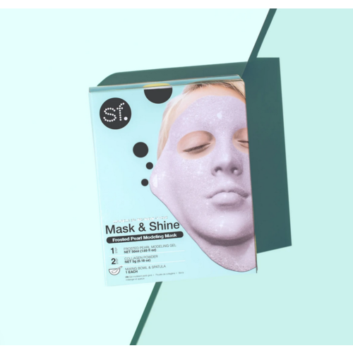 SF Glow Frosted Pearl Modeling Gel Mask