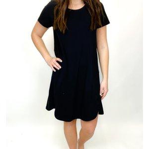 Aventura Jordana Dress Black