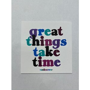 Quotable Great Things