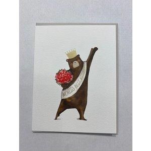 E Frances Mama Bear Card