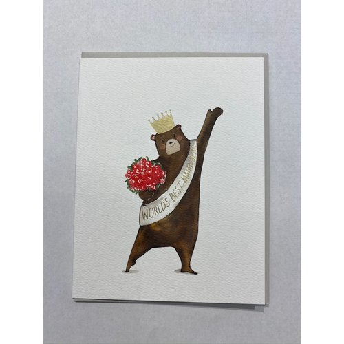 E Frances Mama Bear Card Sp494