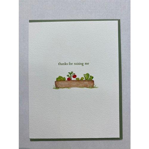 E Frances Thanks for Raising Me Card