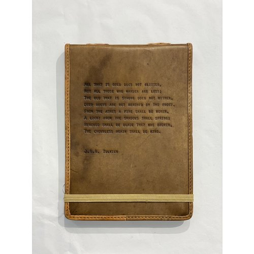 Sugarboo Leather Journal- J.R.R. Tolkien