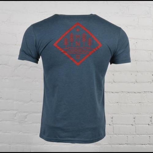 Sota Clothing Sota Hay Creek T Shirt Ind Red
